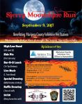 Annual Sierra Moonshine Poker Run to Benefit Mariposa Fire Fighters on Saturday, September 9, 2017