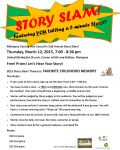 Mariposa County Arts Council Hosts Second Annual Story Slam on March 12, 2015