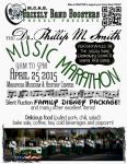 MCHS Grizzly Band Boosters Host Dr. Phillip M. Smith Band Marathon on April 25, 2015
