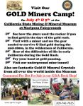 Come Search for Gold at the California State Mining & Mineral Museum on July 4th & 5th, 2015