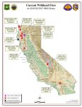 CAL FIRE Wednesday Morning August 26, 2015 Report on Wildfires in California - Walker Fire Now at 92% Containment