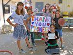 Sierra Foothill Charter School Receives Funds from Pioneer Market's Sports Program