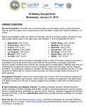 California Drought Briefing for January 21, 2015