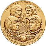 United States Mint Announces American Fighter Aces Receive Congressional Gold Medal