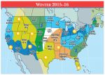 The Old Farmers Almanac Releases 2016 National Winter Prediction - Cold and Dry in the West