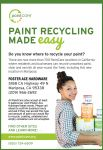 Paint Recycling Made Easy at Foster Ace Hardware in Mariposa