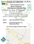 UCCE Tuolumne County Master Gardeners Announce Poly-Styrene Collection Day on May 16, 2015