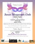 Mountain Crisis Services to Host 'Sunset Masquerade Gala' Annual Fundraiser on February 11, 2017