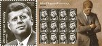 Forever Stamp Commemorating JFK's  Birth Centennial Dedicated on President's Day