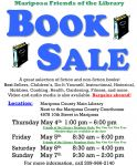 Don't Miss Mariposa Friends of the Library Semi-Annual Book Sale May 4-7, 2017