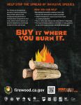 You Can Help Stop the Spread of Invasive Species in Mariposa County – Buy Your Firewood Where You Burn It