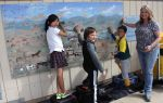 Mural Restoration Project Begins at Sierra Foothill Charter School
