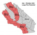 NIFC Predictive Services Release California Wildland Fire Potential Outlook For July Through October, 2016