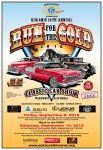 Sierra Oakhurst Kiwanis Club Hosts 14th Annual 'Run for the Gold' Car Show on September 9 & 10, 2016