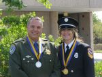 Firefighter Elizabeth Marks and Firefighter II Joshpae White of CAL FIRE Madera-Mariposa-Merced Unit Among Nine CAL FIRE Firefighters Receiving Medal of Valor