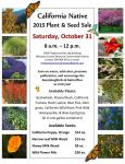 Mariposa County RCD Hosts 45th Annual California Native Plant & Seed Sale on October 31, 2015