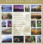 Postal Service Previews Spectacular National Parks Stamp Pane - Yosemite Takes Center Pane!