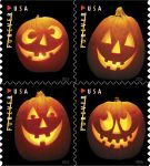 Postal Service Releases Iconic Symbols of Halloween on Forever Stamps