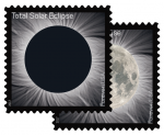Postal Service With NASA Issues Total Eclipse of the Sun Forever Stamp Today