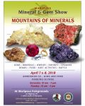Enjoy the California State Mining & Mineral Museum's Annual Gem and Mineral Show on April 7 & 8, 2018