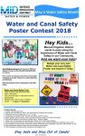 Merced Irrigation District Seeks Entries for 2018 Annual Water-Safety Poster Contest - Five Runner-Up Winners Will Receive Overnight Camping Passes to Lakes McClure and McSwain in Mariposa County