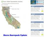 Sierra Snowpack Measured at 19% of Normal for February 23, 2015