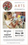 Mariposa Summer Art Camp Fundraiser at the Pizza Factory on May 28, 2015