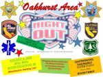 Oakhurst Area National Night Out on Tuesday, August 4, 2015
