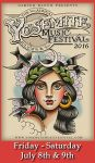 Yosemite Music Festival to be Held in Mariposa on July 8 & 9, 2016
