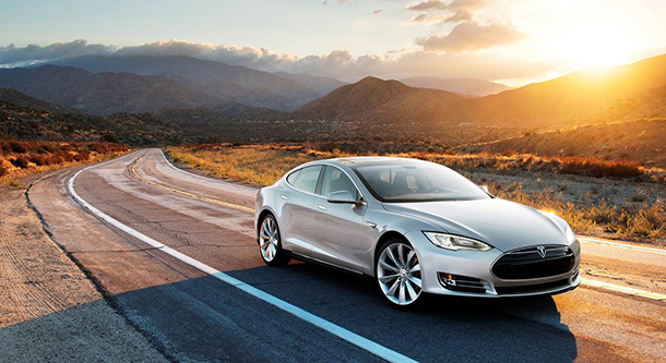 aaa green car of the year is tesla model s 70d