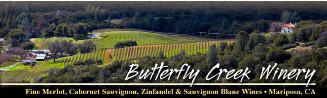 buterfly creek winery header mariposa california