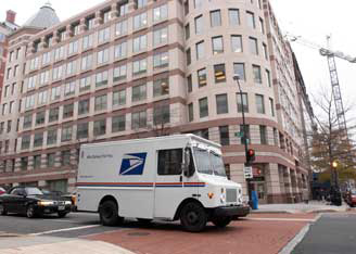 usps delivery vehicle