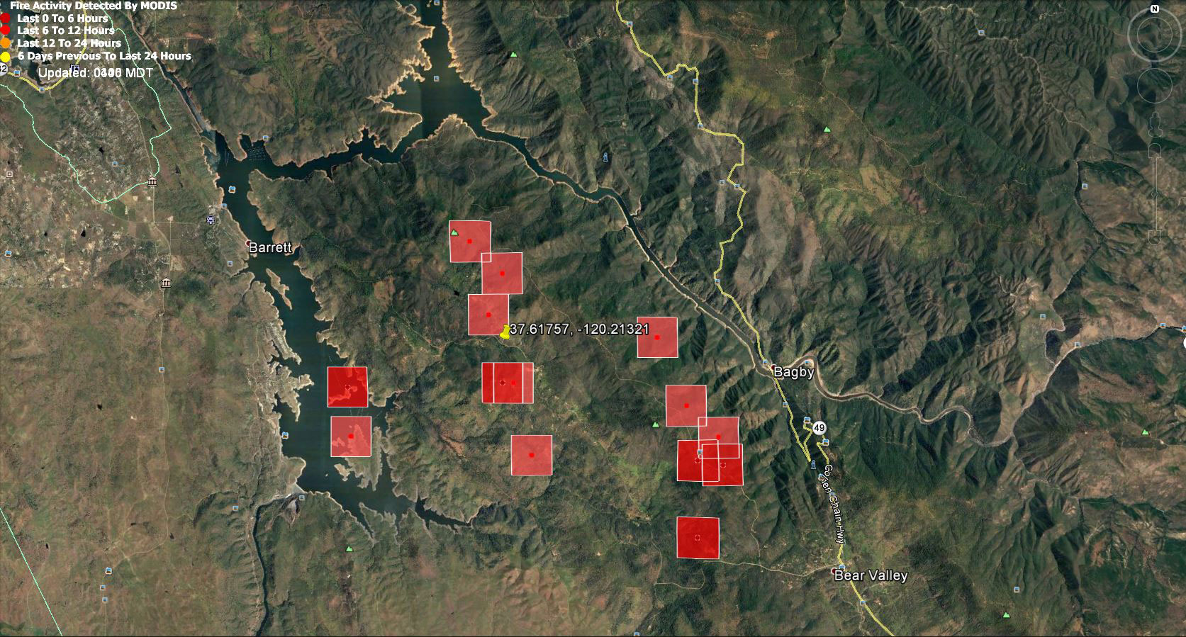 Monday July 17 2017 Updates On Detwiler Wildfire In Mariposa