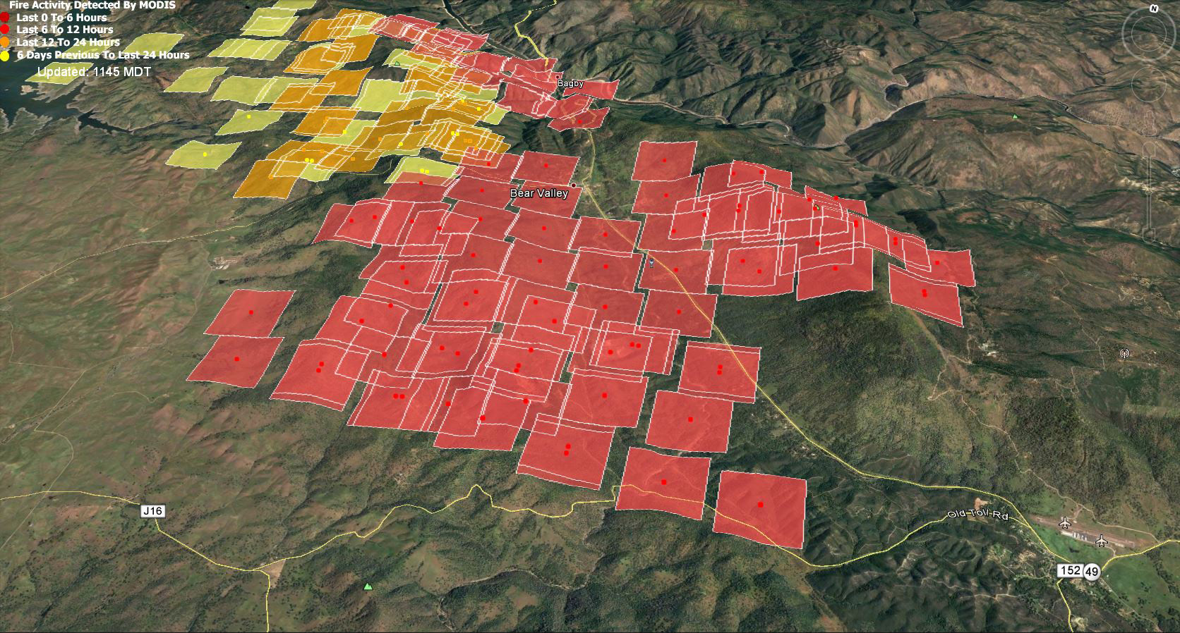Tuesday July 18 2017 Updates On Detwiler Wildfire In Mariposa County