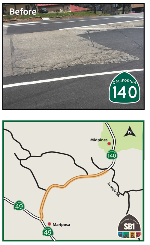 Caltrans Accelerates Repairs on State Route 140 in Mariposa