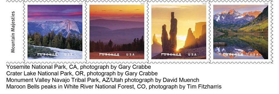Stunning Images from Maine to Hawaii Showcased on Postal Service O
