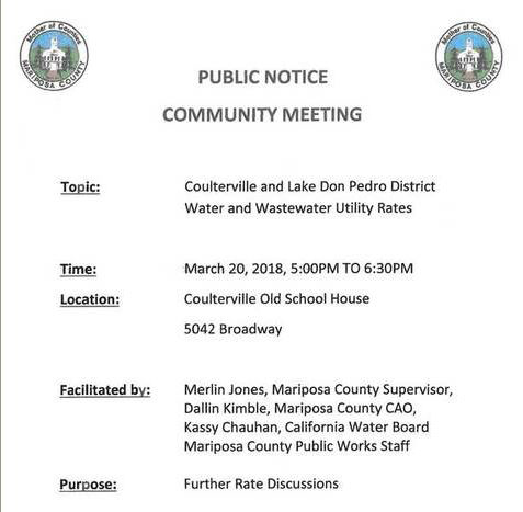 coulterville community meeting march 20 2018