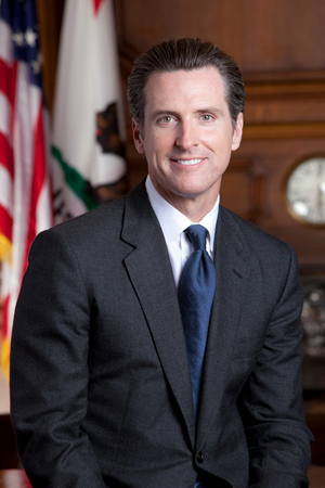 Gavin Newsom official photo