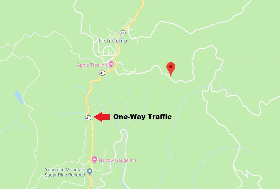Caltrans Traffic Advisory for One-Way Traffic Control on Highway 41 on