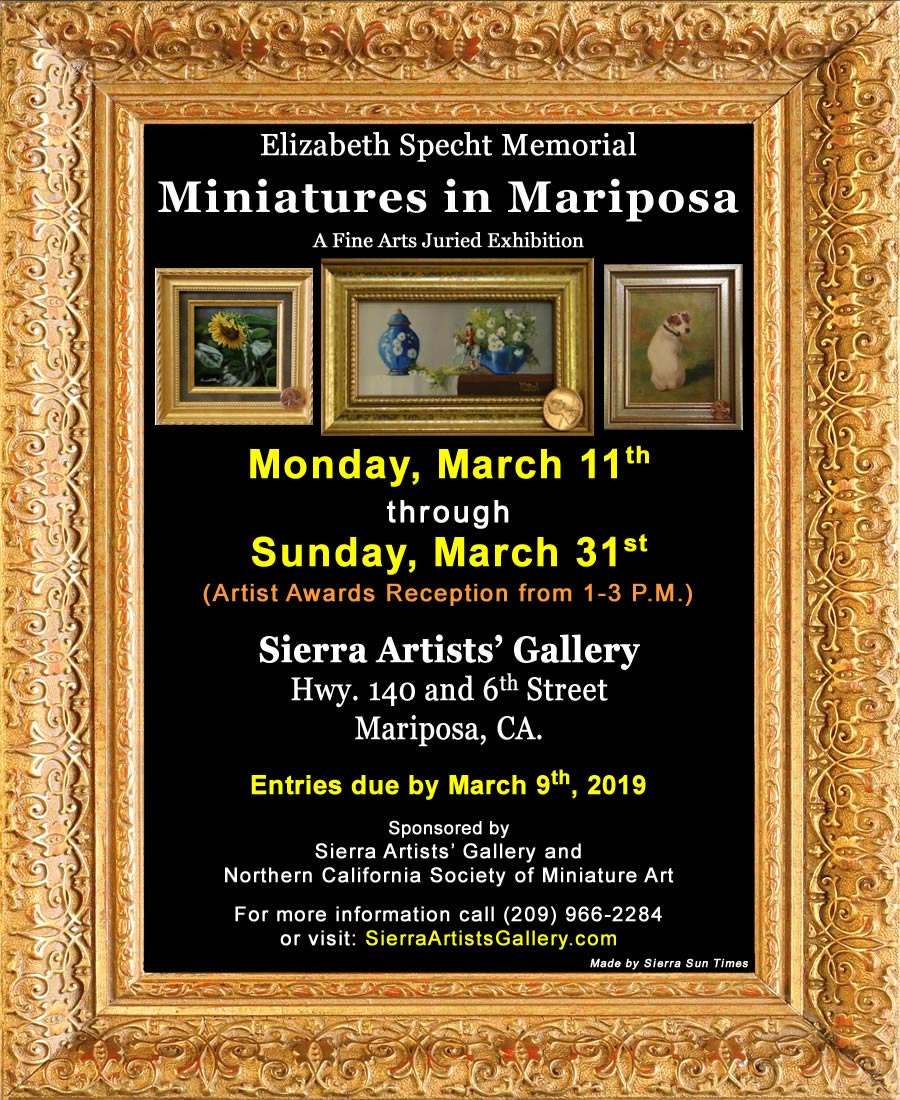 2019 Miniatures in Mariposa