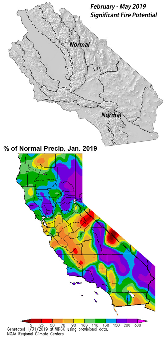 February 2019 To May 2019 Fuels, Fire And Weather Assessment