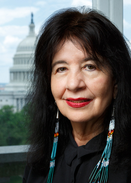 Librarian of Congress Names Joy Harjo the Nation's 23rd Poet