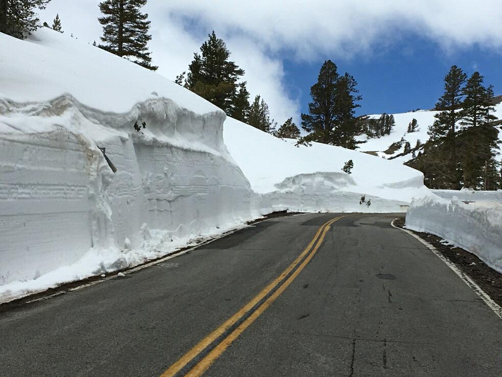 California Highways Seasonal Pass Opening Status as of May