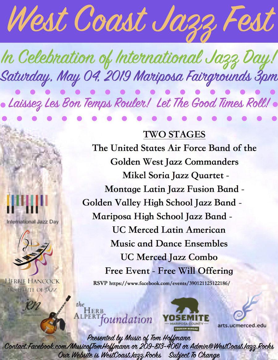 West Coast Jazz Fest Celebrates International Jazz Day in
