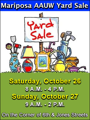 10 26 19 AAUW Annual Yard Sale ad