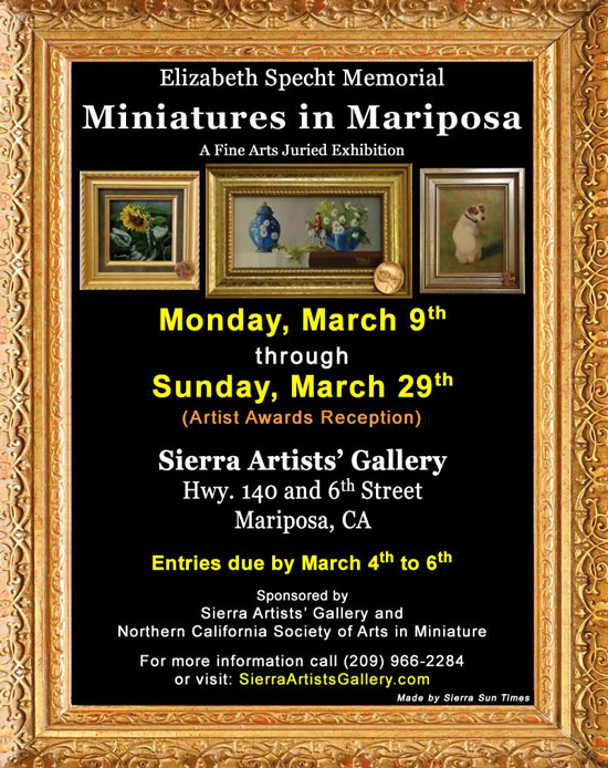 2020 Miniatures in Mariposa sm