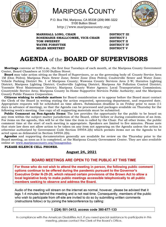 2021 08 24 Board of Supervisors 1