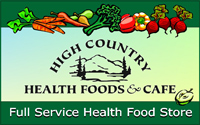 High-Country Health Food and Cafe in Mariposa California