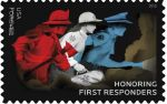New Forever Stamp Salutes First Responders